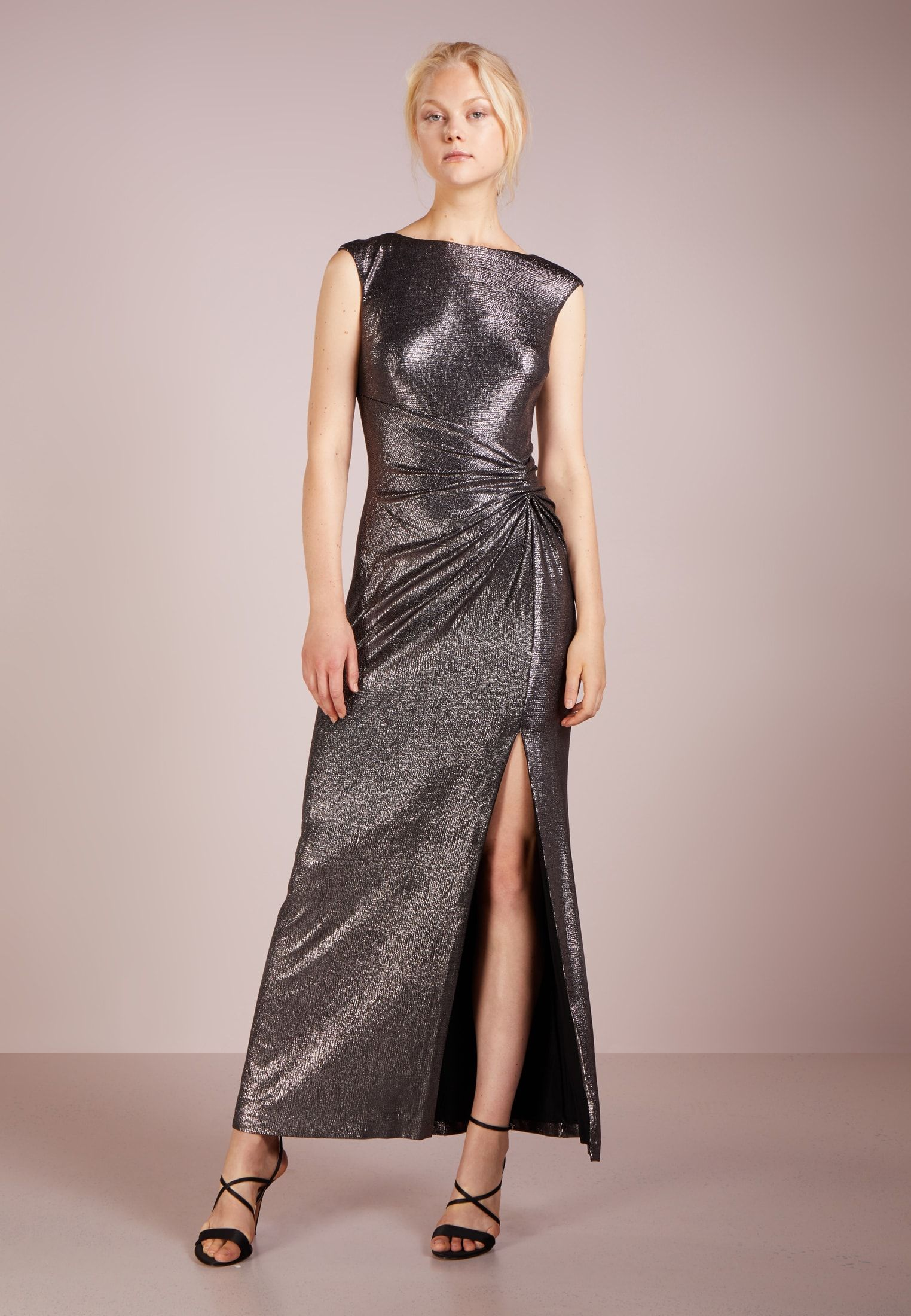 qualità eccellente alta moda più recente GLISTENING ILIANNE - Abito da sera - black/gunmetal ...