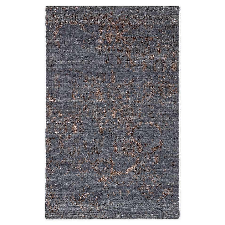 Jaipur Heritage Rou 7 10 X 10 10 Area Rug In Blue Brown Blue