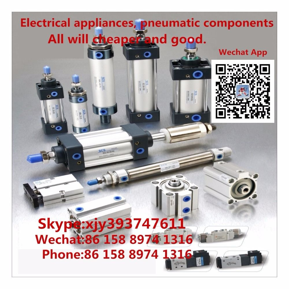 Electrical appliances pneumatic components Cylinder