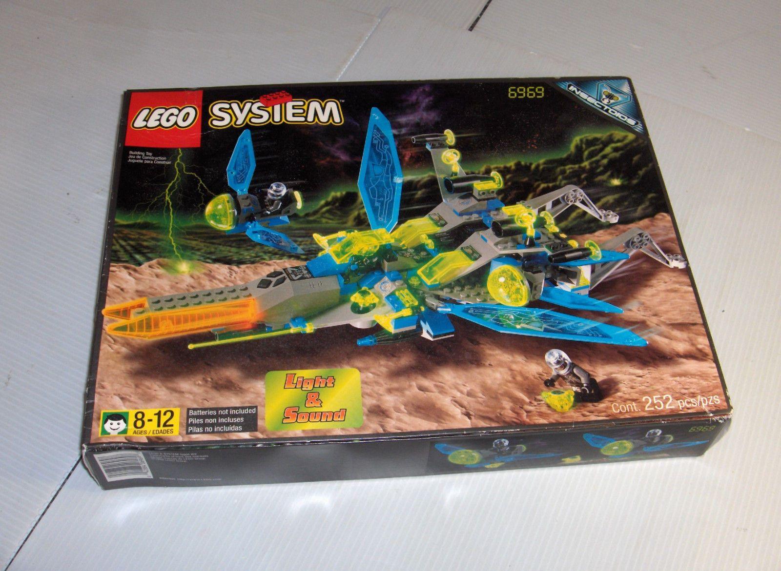 Lego Celestial Stinger Set No 6969 Never Opened From 1998 Spy Jet Escape 8638