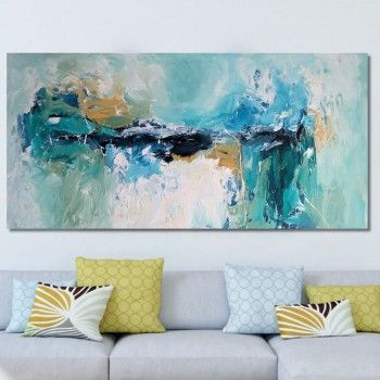 The Latest Abstract Painting From Omar Obaids Collection Will Brighten Up Your Living Room And Home Design