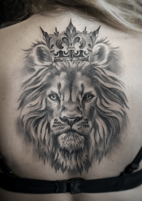 Lion King Premium Tattoos Lion Back Tattoo Lion Tattoo Tattoos