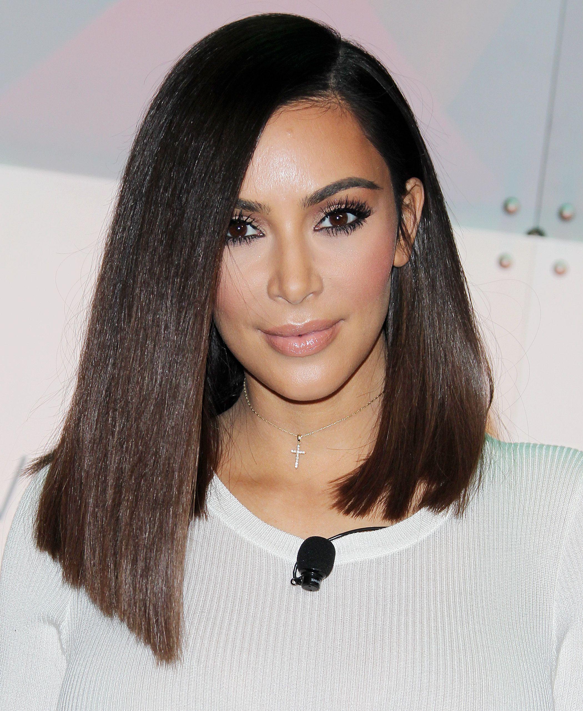 Kim Hairstyles: Pin On Kim Kardashian
