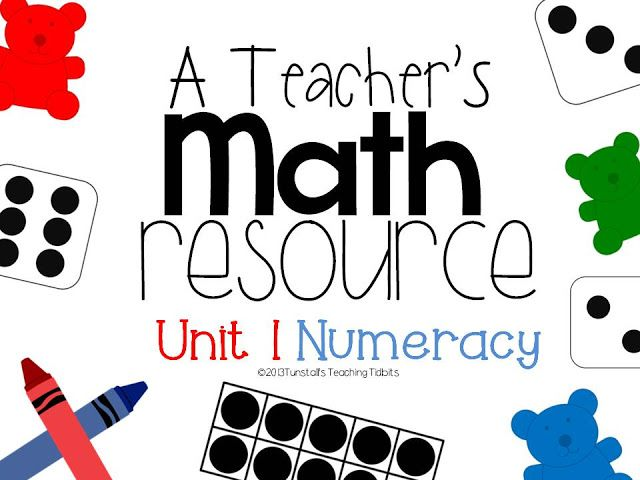 A Teacher\'s Math Resource! This unit is free! | Diversion con ninos ...