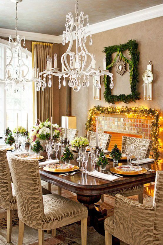 luxury christmas decoration ideas Amazing Ornament Christmas Table  Decorations