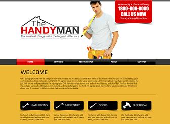Handyman template a do it yourself website template for your business website templates wix 10 solutioingenieria Gallery