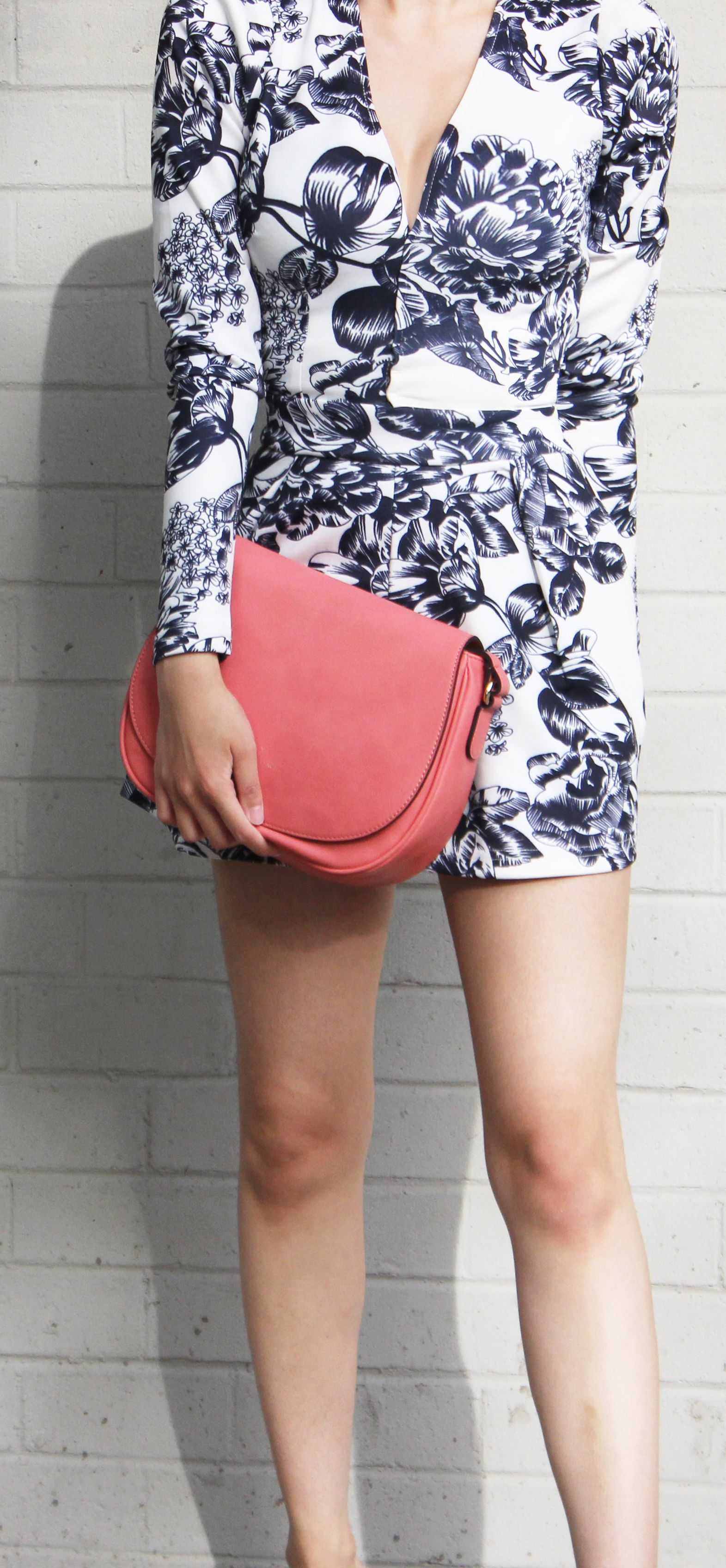 Morning Coral Cross-body