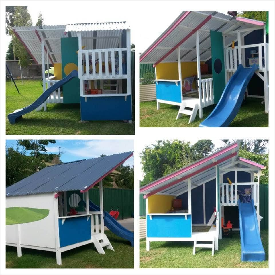 Cubby house kits kids wooden houses my also best garden ideas images on pinterest in gardens rh