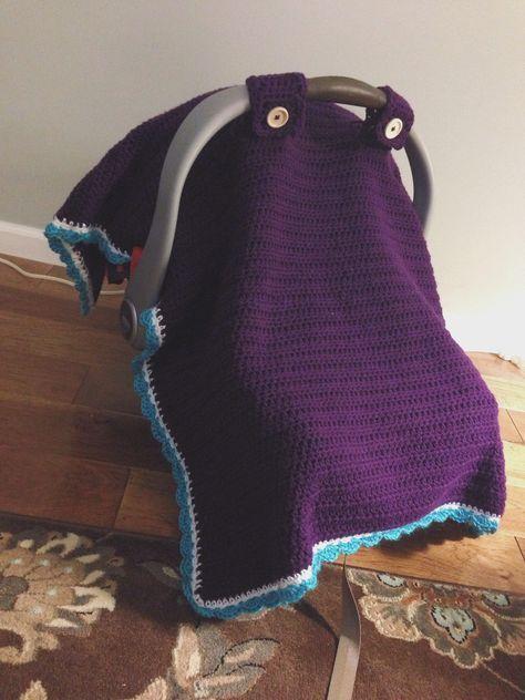 Crochet Car Seat Canopy Crochet Dreams Pinterest Car Seat