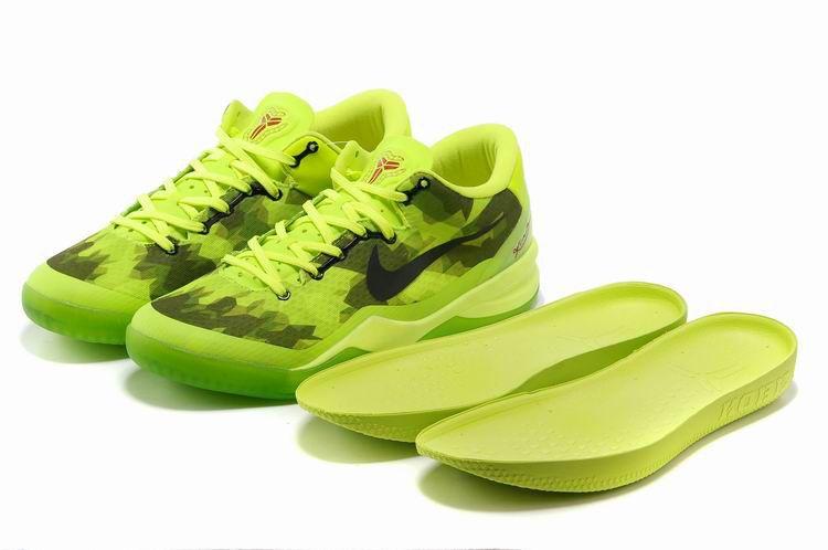 Kobe 8 Elite Black New Green Pine