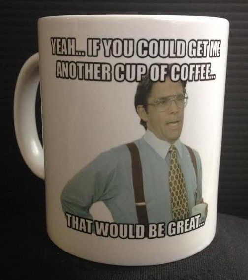 Lumbergh 11oz Ceramic Coffee Mug Office Space Tps Reports Cult