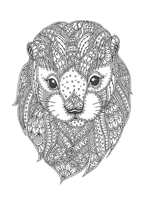 Otter with doodle pattern | Pinterest | Nutrias, Doodle y Patrones
