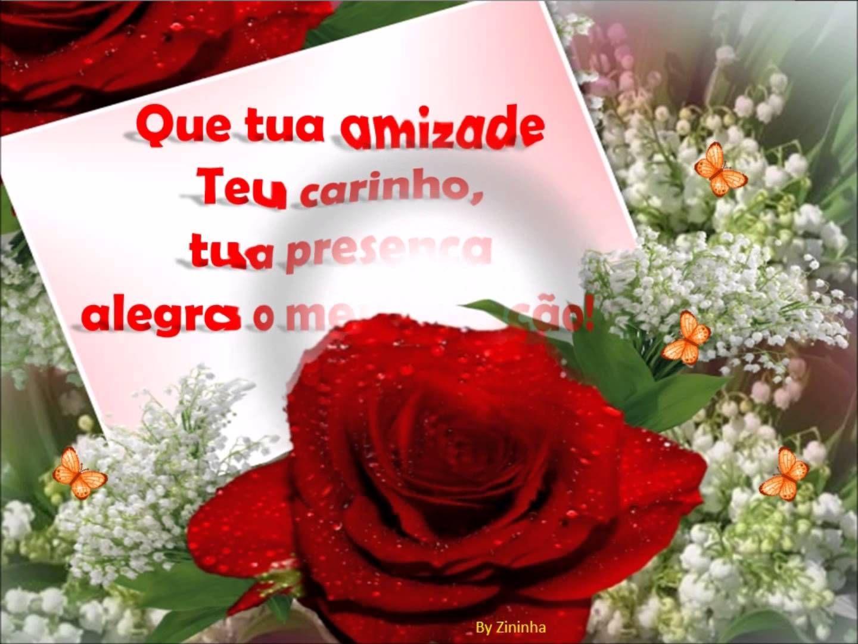 Boa Noite Mensagem De Carinho: Rosas E Meu Carinho Pra Você Sempre!
