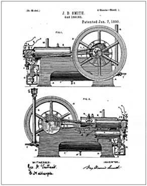 Smith Gas engine