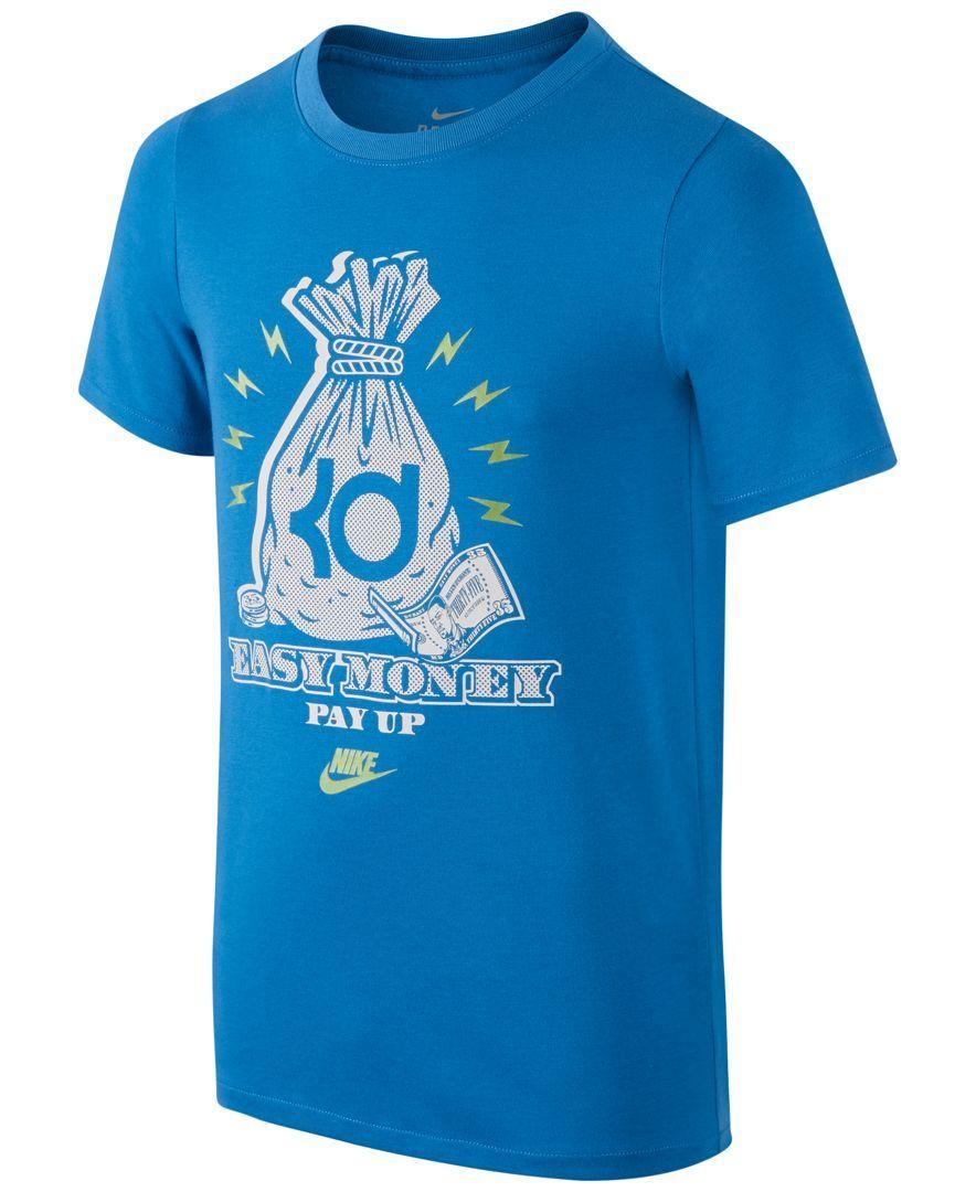 Nike Boys' Dri-fit Kd Easy Money T-Shirt