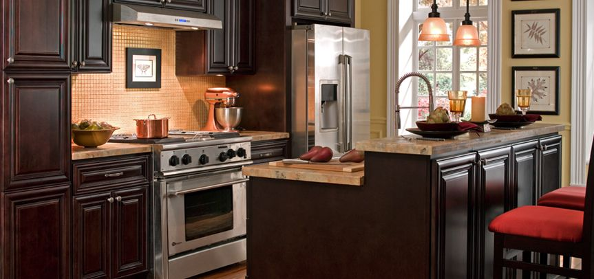 Cabinets To Go Kitchen Cabinets Palm Beach Dark Chocolate 2 239 91 For Cabinets Kitchens Pinterest Kitchen Kitchen Cabinets And Kitchen Remodel