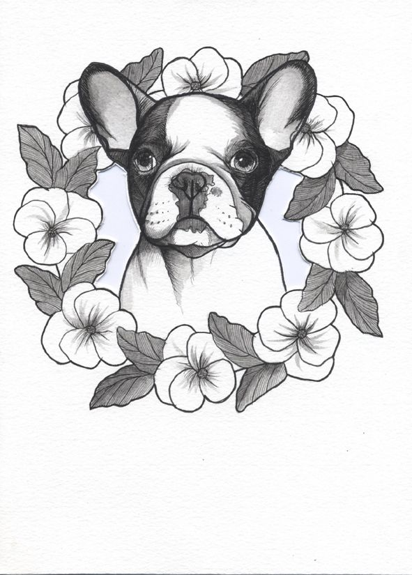 French Bulldog Tattoo Design Frenchie Tattoo Design Sketchbook Page By Jeroen Teunen The Dog Painter Dog Tattoos French Bulldog Tattoo Bulldog Tattoo