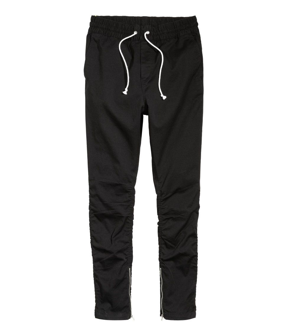 e006e65515 Cotton Twill Joggers | H&M Divided Guys H M Man, Fashion Wear, Mens Fashion,