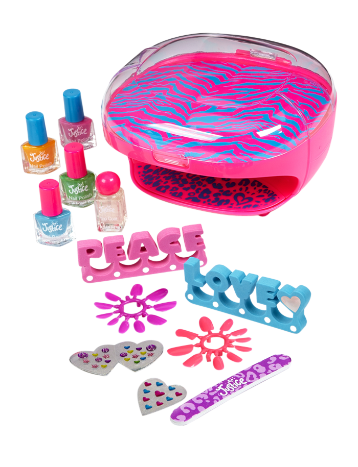 Nail Dryer & Polish Set | Nail Polish & Kits | Beauty | Shop Justice ...