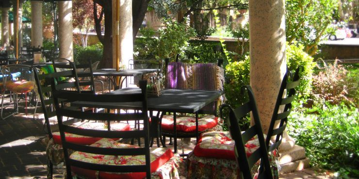 Sedona Secret Garden Cafe Menu With Images Garden Cafe