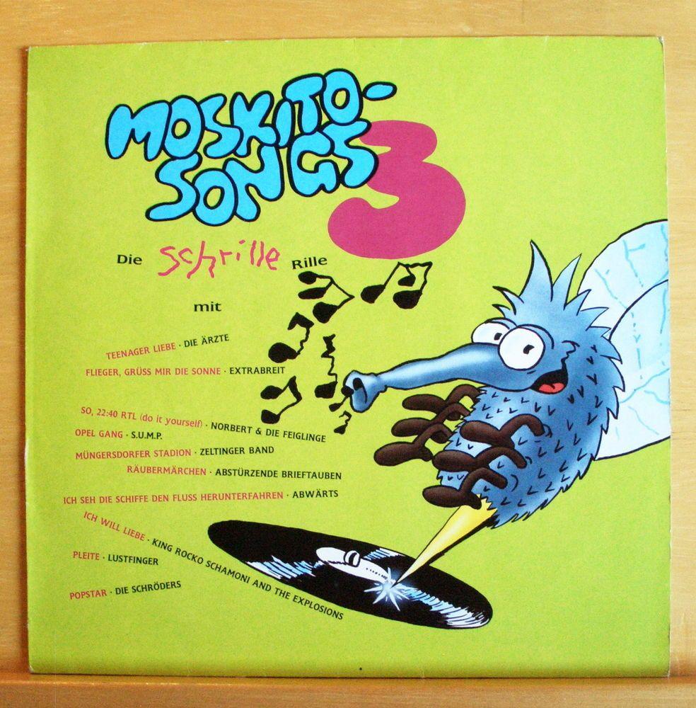 V.A. Moskito-Songs 3 Vinyl LP - Die Ärzte Extrabreit Abwärts S.U.M.P. Lustfinger