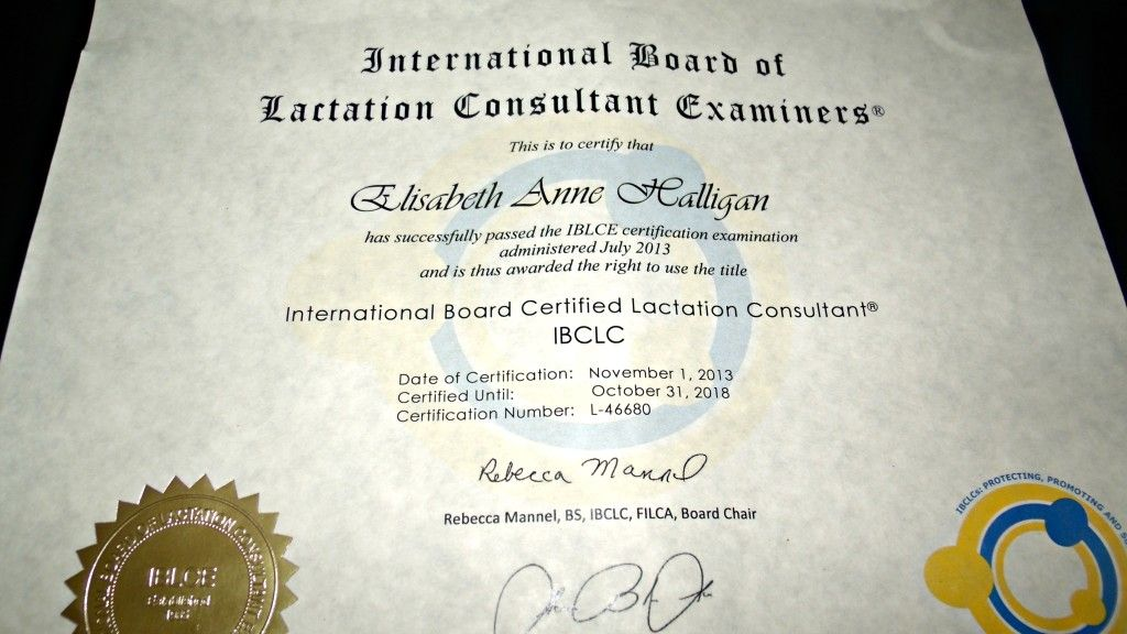 Ibclc Certificate Came In The Mail Breastfeeding Info Pinterest
