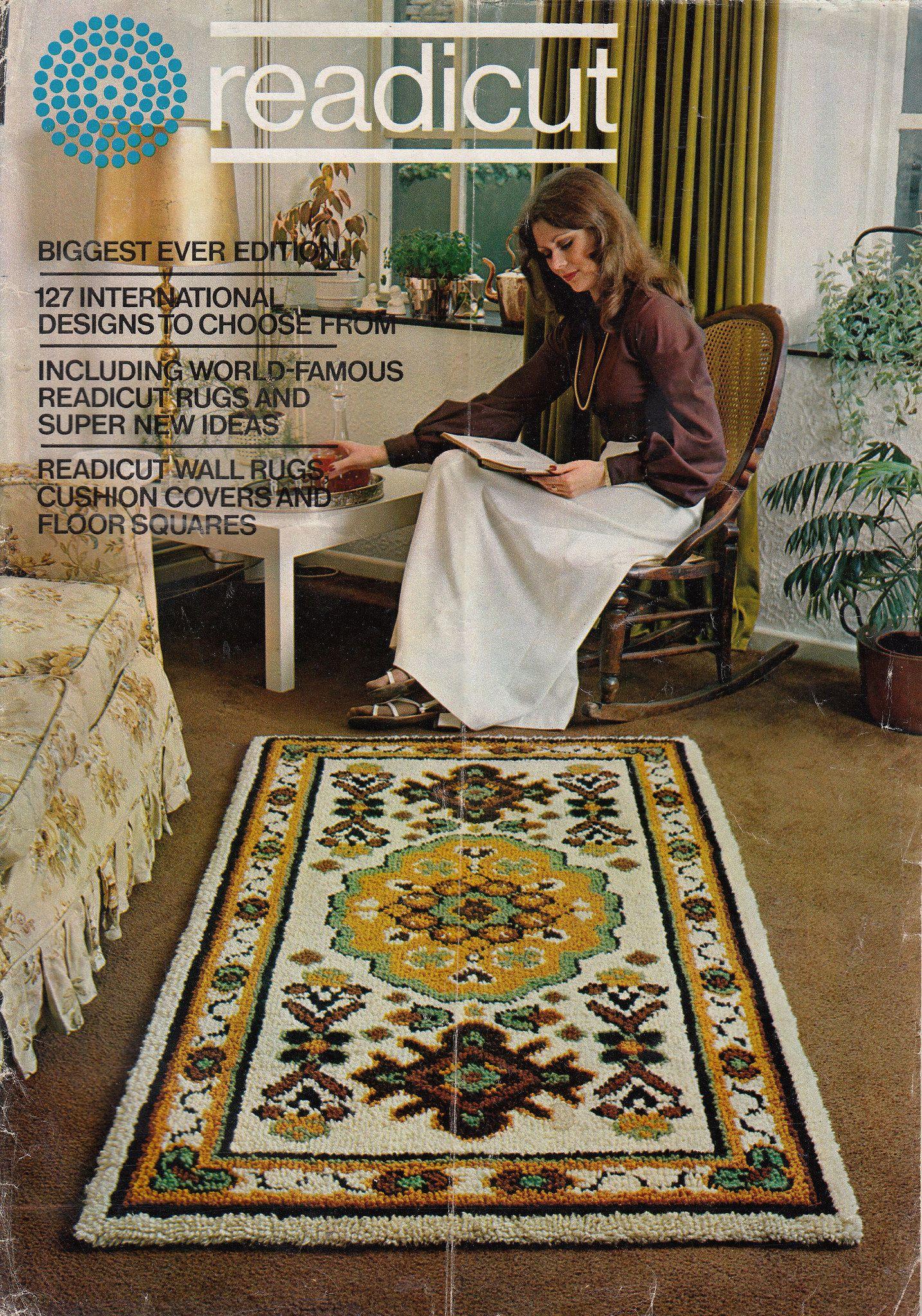 Readicut Vol 44 1974 Wall Rug