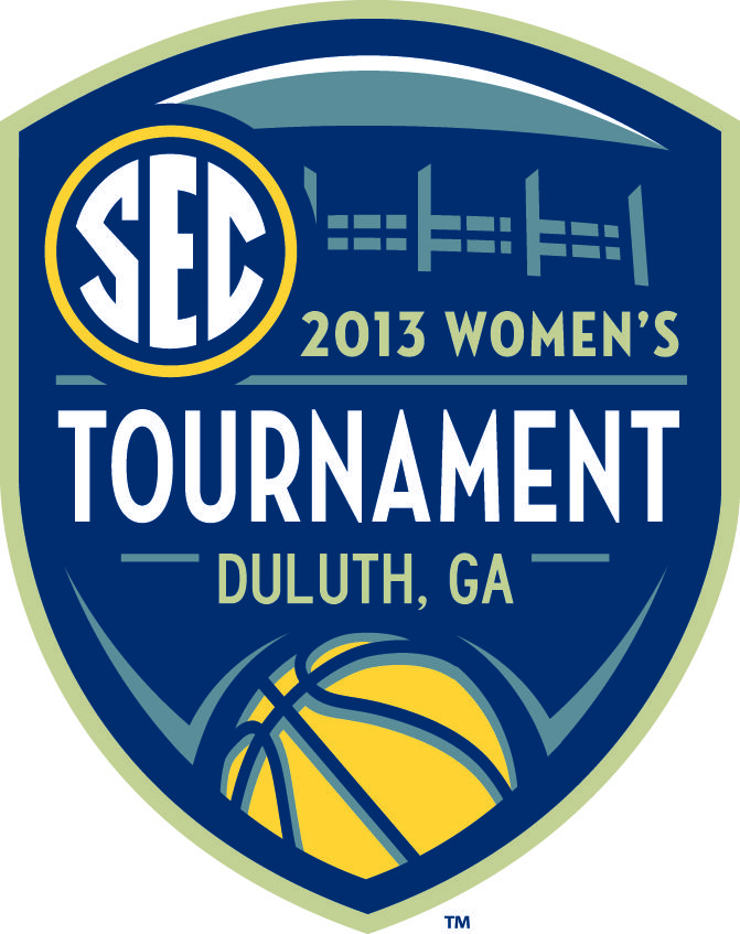 2013 SEC Women's basketball tournament logo Logo
