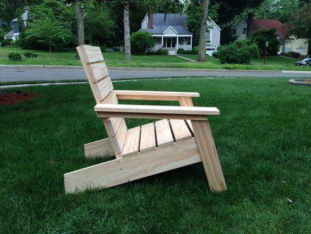 Sedie Pallet ~ Modern adirondack chair mobili sedie pallet e