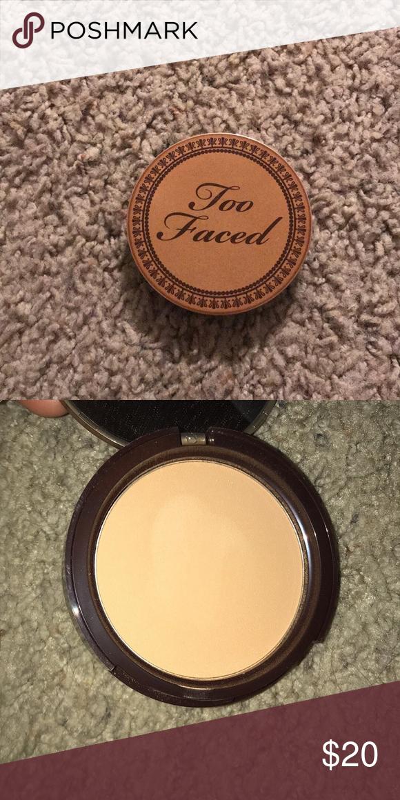 Too faced milk chocolate bronzer in 2020 Bronzer, Makeup