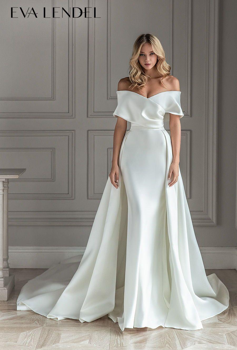 Eva Lendel 2021 Wedding Dresses Less Is More Bridal Collection Wedding Inspirasi Glamourous Wedding Dress Wedding Dress Guide Bridal Dresses [ 1326 x 900 Pixel ]