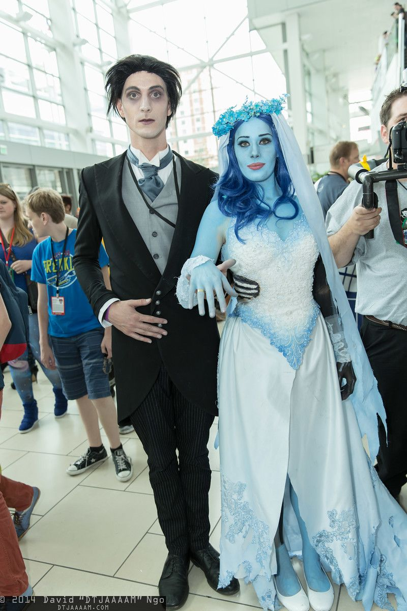 Victor Van Dort and Emily (The Corpse Bride) | Denver Comic Con 2014 ...