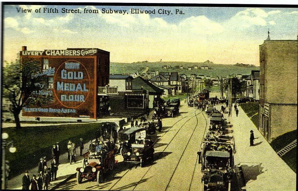 ellwoodcity #westernpennsylvania #mainstreet #history
