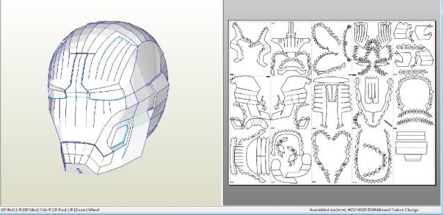 Iron Man Helmet Pdf