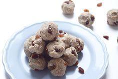 No bake sunbutter balls met kokos