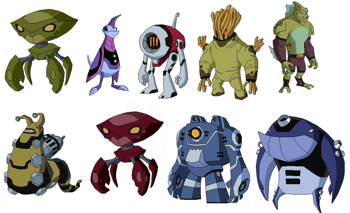 resultado de imagen para ben 10 omniverse aliens nuevos con sus