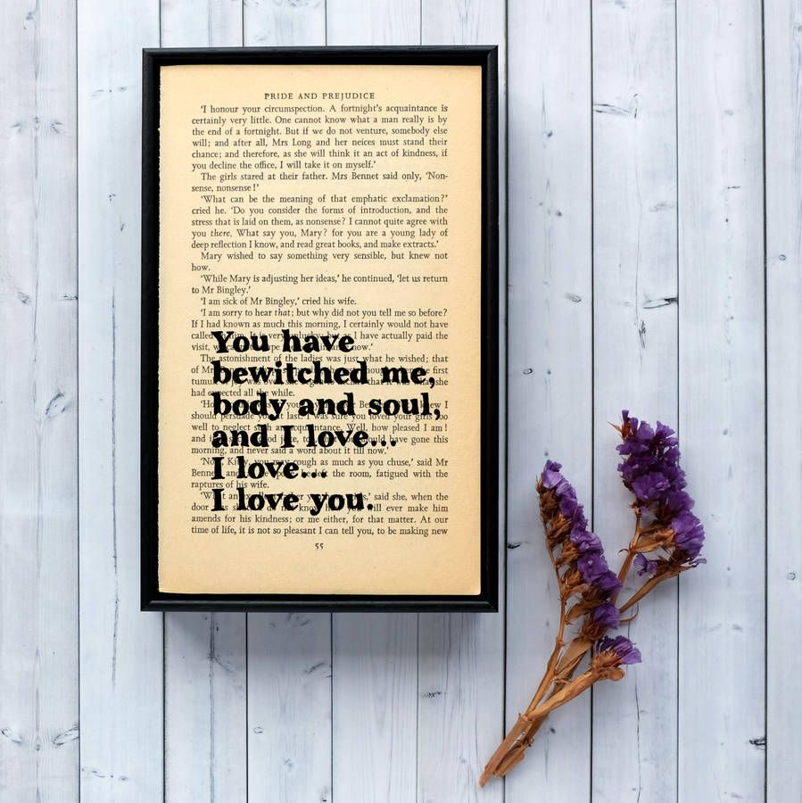 Pride And Prejudice Book Pages