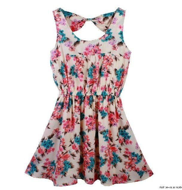 flower bowknot dress