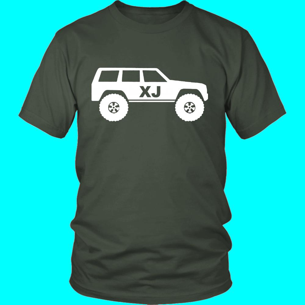 Xj Cherokee Fan Tee Shirt Jeep Shirts Shirts Jeep Xj