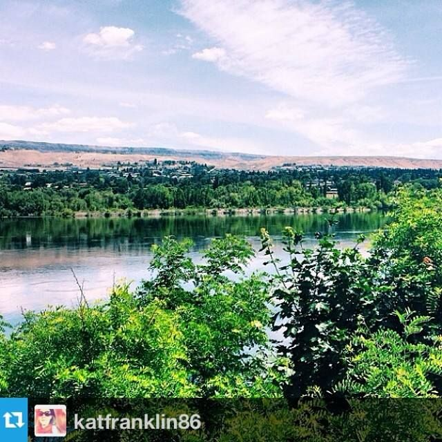 #looptrail Kat Franklin took this photo while running the loop trail in Wenatchee.