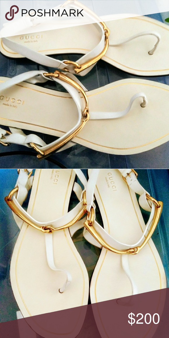 05cd2bef9b8 Gucci Sandals Gucci Horsebit Thong Sandals Shoes Sandals   My Posh ...