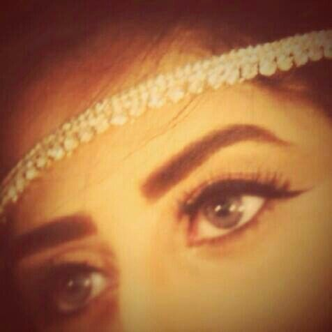 Abdullha Pretty Eyes Stylish Girl Beautiful Eyes