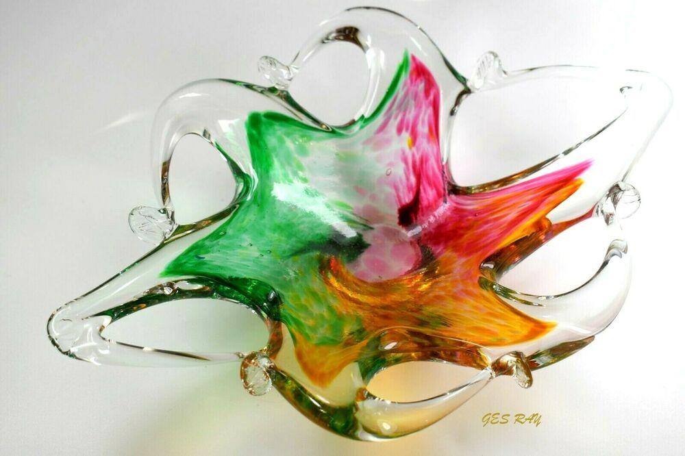 Lavorazione T. Murano Blown Art Glass