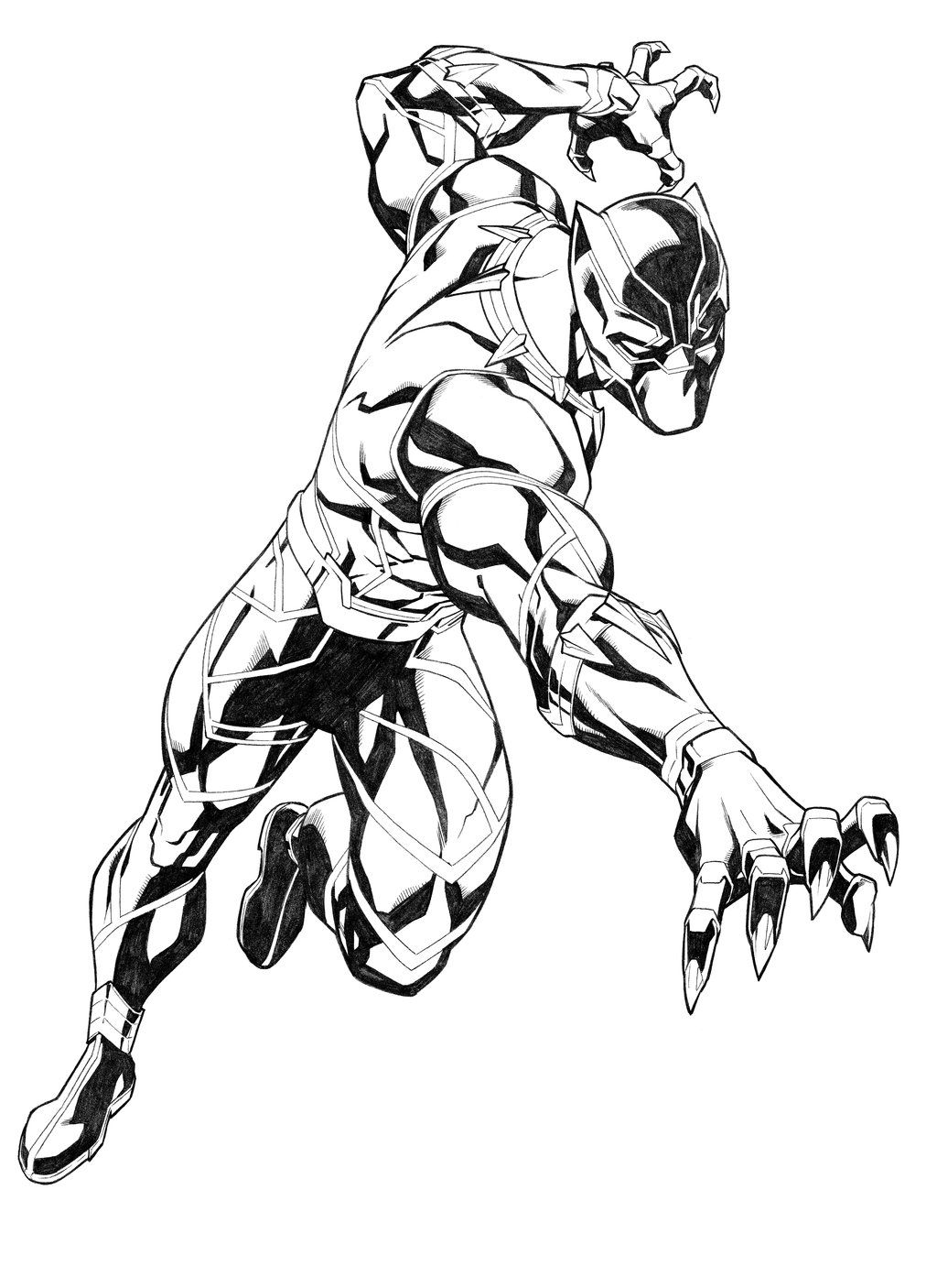Black Panther By Carlosgomezartist On Deviantart Black Panther