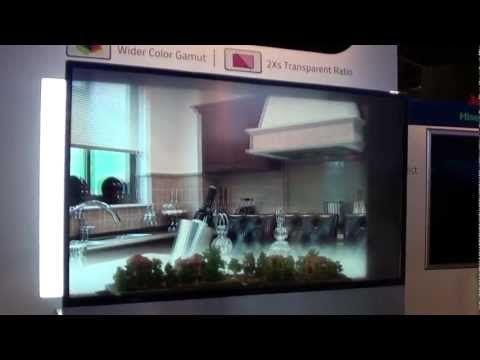 Hisense Transparent 3D TV at CES 2013  #Hisense #3D #Transparent #TV #CES #Lasvegas