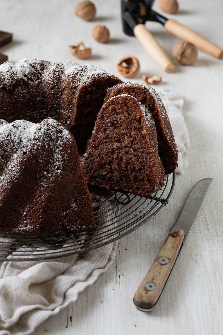 Schokokuchen ohne Mehl mit Nüssen - Rezept - Sweets & Lifestyle®