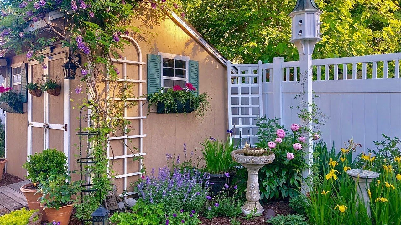 Southern New Jersey Small Yard Garden Tour Zone 7a Youtube In 2020 Small Yard Garden Tours Easy Backyard Backyard garden tour youtube