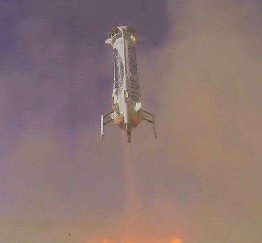 Tähdet ja avaruus: New Shepard -raketti onnistui jälleen - video lennosta