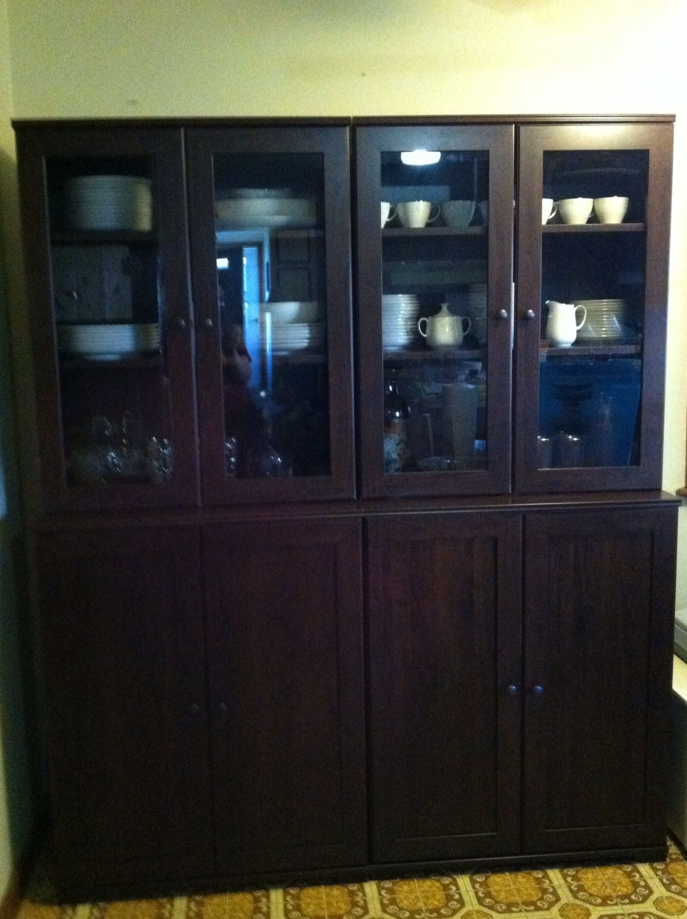 buy popular 664ab 6d851 First Ikea project complete! Tons of kitchen storage now ...