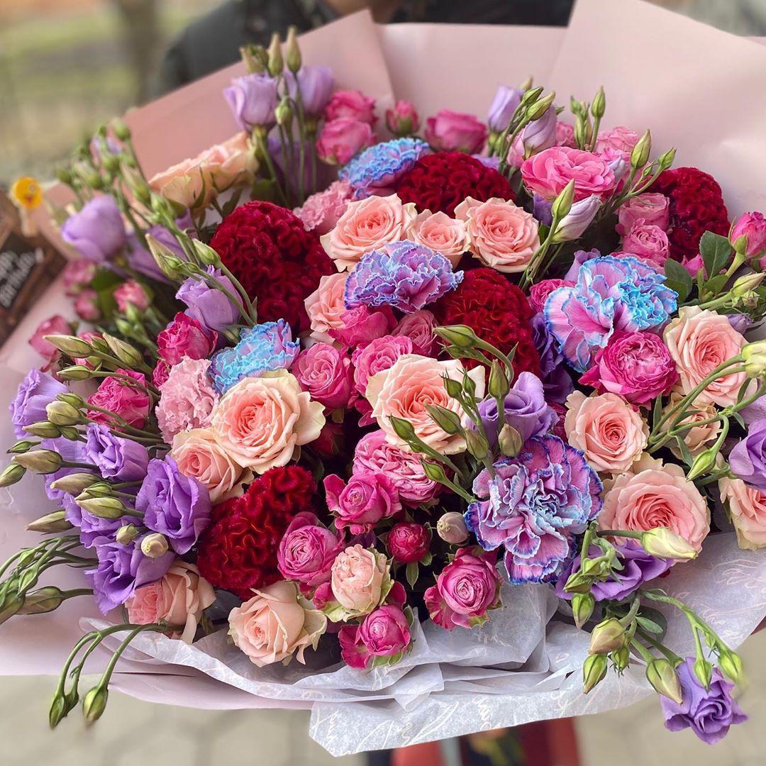 725 Otmetok Nravitsya 11 Kommentariev Cvety Bukety Na Zakaz Moskva Le Jardinier Flowers V Inst Flower Boutique Birthday Flowers Bouquet Birthday Flowers